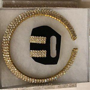 Faux Gold and Rhinestone Costume Jewelry